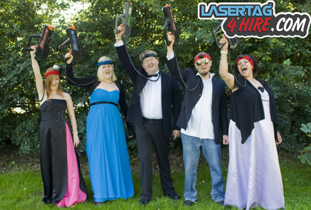 Photoshoot for Laser Tag 4 Hire