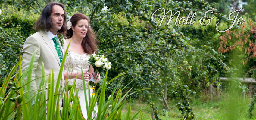 Wedding photograpy for Matt & Jo Biggs in hereford
